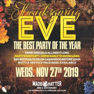 Thanksgiving Eve Flyer 2019