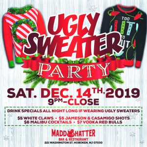 Ugly Sweater Holiday Flyer