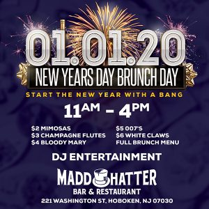 New Years Day Brunch Flyer