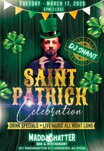 St Patricks Day 2020 Flyer